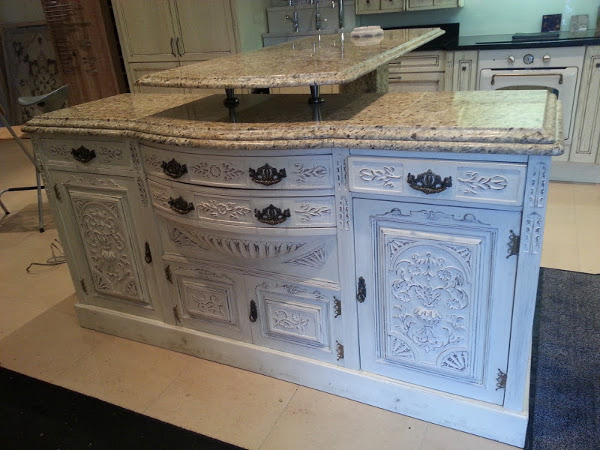 Ex display sideboard and bar
