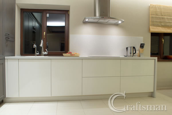 New units and worktop